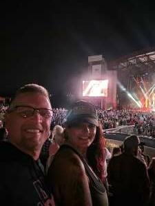 DB attended Jason Aldean: Back in the Saddle Tour 2021 on Aug 7th 2021 via VetTix