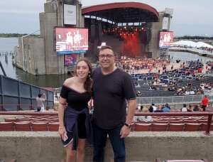 Kenny attended Jason Aldean: Back in the Saddle Tour 2021 on Aug 7th 2021 via VetTix