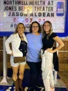 Donnelly Family attended Jason Aldean: Back in the Saddle Tour 2021 on Aug 7th 2021 via VetTix