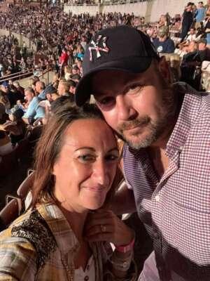 James attended Jason Aldean: Back in the Saddle Tour 2021 on Aug 7th 2021 via VetTix