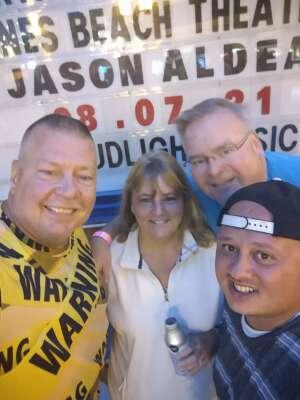 Joe attended Jason Aldean: Back in the Saddle Tour 2021 on Aug 7th 2021 via VetTix