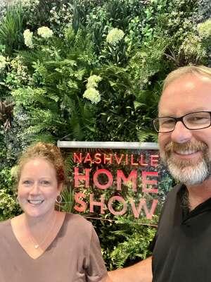 Bobby  attended Nashville Home Show on Sep 10th 2021 via VetTix