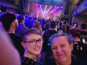 Crysta attended Pop Evil: the Versatile Tour on Sep 8th 2021 via VetTix