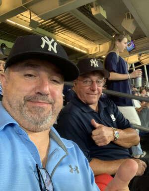 Rob  attended New York Yankees vs. Boston Red Sox - MLB on Aug 18th 2021 via VetTix