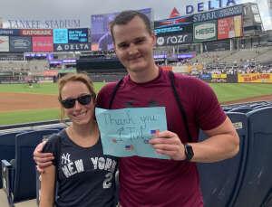 Brendan  attended New York Yankees vs. Boston Red Sox - MLB on Aug 18th 2021 via VetTix