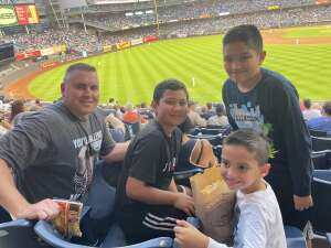 JR attended New York Yankees vs. Boston Red Sox - MLB on Aug 18th 2021 via VetTix