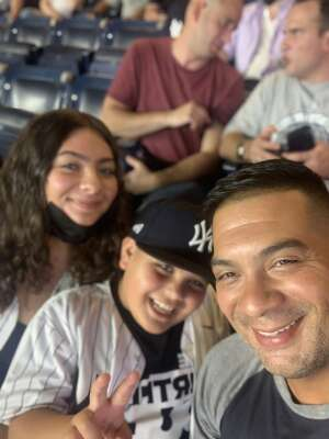 Marvin Cruz attended New York Yankees vs. Boston Red Sox - MLB on Aug 18th 2021 via VetTix