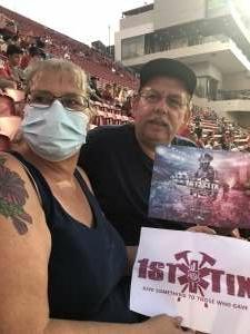 William Livsey attended USC Trojans vs. Stanford Cardinal - NCAA Football on Sep 11th 2021 via VetTix