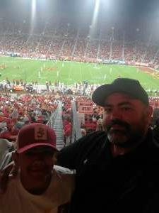 Luis attended USC Trojans vs. Stanford Cardinal - NCAA Football on Sep 11th 2021 via VetTix