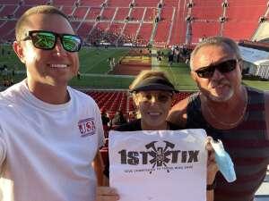 Brandyn Johnson attended USC Trojans vs. Stanford Cardinal - NCAA Football on Sep 11th 2021 via VetTix