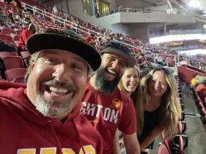 Marco attended USC Trojans vs. Stanford Cardinal - NCAA Football on Sep 11th 2021 via VetTix