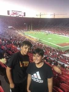 Scott attended USC Trojans vs. Stanford Cardinal - NCAA Football on Sep 11th 2021 via VetTix