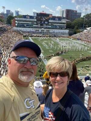 Eddie R. attended Georgia Tech. Yellow Jackets vs. Kennesaw State Owls - NCAA Football on Sep 11th 2021 via VetTix