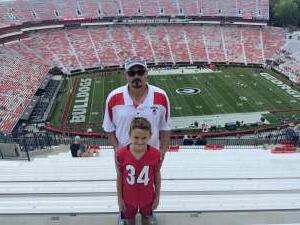Craig attended University of Georgia Bulldogs vs. University of Alabama at Birmingham Blazers - NCAA Football on Sep 11th 2021 via VetTix