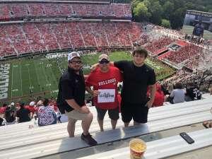 Donald Gaskins attended University of Georgia Bulldogs vs. University of Alabama at Birmingham Blazers - NCAA Football on Sep 11th 2021 via VetTix