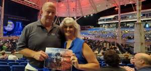 Stew attended The World's Greatest Pink Floyd Show -brit Floyd - World Tour 2021 on Sep 9th 2021 via VetTix
