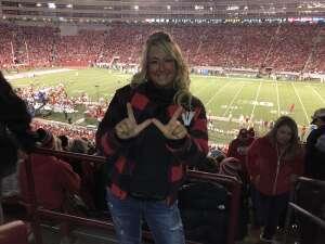 Shellie attended University of Wisconsin Badgers vs. Army - NCAA Football on Oct 16th 2021 via VetTix