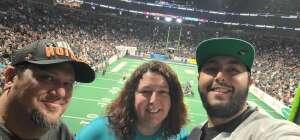 Tony P. attended IFL United Bowl Arizona Rattlers V. Massachusetts Pirates on Sep 12th 2021 via VetTix
