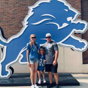 Keith Y attended Detroit Lions vs. San Francisco 49ers - NFL on Sep 12th 2021 via VetTix
