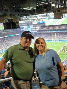 Tom attended Detroit Lions vs. San Francisco 49ers - NFL on Sep 12th 2021 via VetTix
