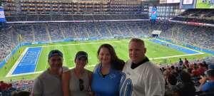 Konrad attended Detroit Lions vs. San Francisco 49ers - NFL on Sep 12th 2021 via VetTix