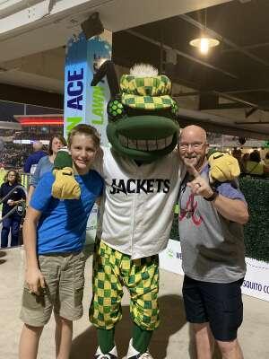 Mark attended Augusta Greenjackets vs. Columbia Fireflies - MiLB - General Admission on Sep 10th 2021 via VetTix