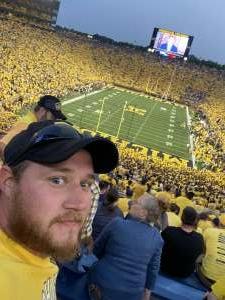 Zach attended Michigan Wolverines vs. Washington Huskies - NCAA Football on Sep 11th 2021 via VetTix