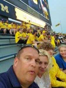 John attended Michigan Wolverines vs. Washington Huskies - NCAA Football on Sep 11th 2021 via VetTix