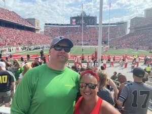 Matt attended Ohio State Buckeyes vs. Oregon Ducks - NCAA Football on Sep 11th 2021 via VetTix