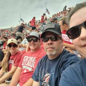 O H  attended Ohio State Buckeyes vs. Oregon Ducks - NCAA Football on Sep 11th 2021 via VetTix