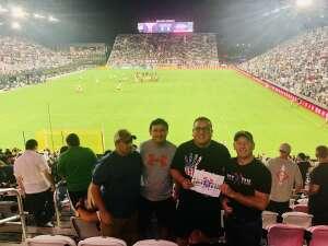 Randy attended Inter Miami CF vs. New York Red Bulls - MLS on Sep 17th 2021 via VetTix