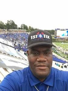 Horace Graham attended Duke Blue Devils vs. Georgia Tech - NCAA Football on Oct 9th 2021 via VetTix