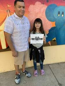 Arod  attended Arizona State Fair - Armed Forces Day on Oct 15th 2021 via VetTix