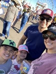 Vic  attended Arizona State Fair - Armed Forces Day on Oct 15th 2021 via VetTix