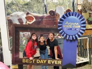 Rochelle attended Arizona State Fair - Armed Forces Day on Oct 15th 2021 via VetTix