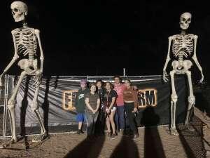 Alfie attended Fear Farm on Oct 1st 2021 via VetTix