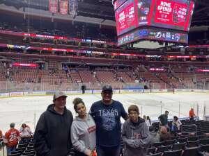 McDonned23 attended Florida Panthers vs. Tampa Bay Lightning - NHL Preseason on Oct 9th 2021 via VetTix
