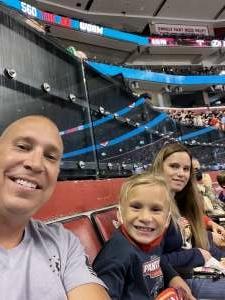 Chris attended Florida Panthers vs. Tampa Bay Lightning - NHL Preseason on Oct 9th 2021 via VetTix