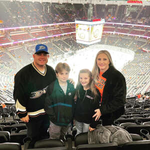 Buddy attended Anaheim Ducks vs. Winnipeg Jets - Antis Community Corner on Oct 13th 2021 via VetTix