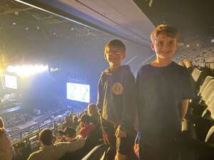 Frank Sap attended The Dude Perfect 2021 Tour on Oct 9th 2021 via VetTix