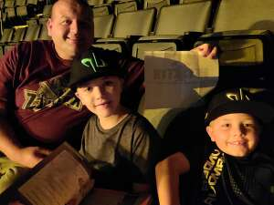 Chet attended The Dude Perfect 2021 Tour on Oct 9th 2021 via VetTix