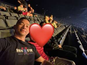 UB attended The Dude Perfect 2021 Tour on Oct 9th 2021 via VetTix