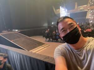 Dave attended The Dude Perfect 2021 Tour on Oct 9th 2021 via VetTix