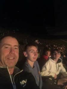 Pat G attended The Dude Perfect 2021 Tour on Oct 9th 2021 via VetTix
