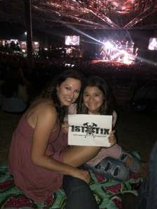 Leah attended Lady a What a Song Can Do Tour 2021 on Oct 2nd 2021 via VetTix