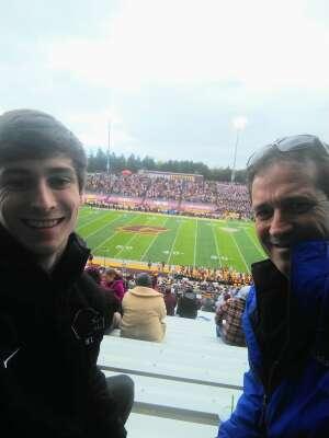 Bill attended Central Michigan Chippewas vs. Toledo Rockets - NCAA Football on Oct 16th 2021 via VetTix