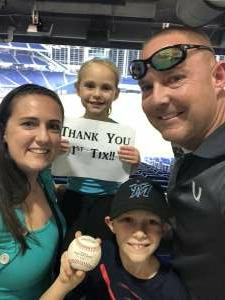 Kevin attended Miami Marlins vs. Philadelphia Phillies - MLB on Oct 1st 2021 via VetTix