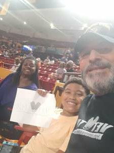 Click To Read More Feedback from Phoenix Mercury vs. Las Vegas Aces - WNBA Playoff Game