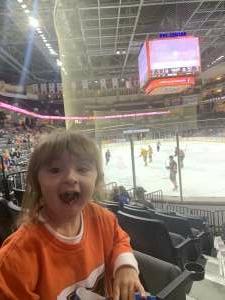 John  attended Lehigh Valley Phantoms vs. Wilkes-Barre/Scranton Penguins - AHL on Oct 9th 2021 via VetTix