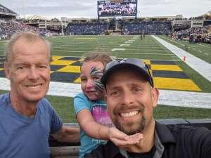 Mike attended Navy Midshipman vs. SMU Mustangs - NCAA Football on Oct 9th 2021 via VetTix